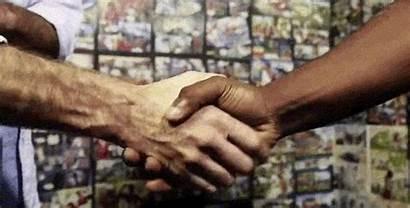 Botswana Handshake Around Hello Each Greet Ways
