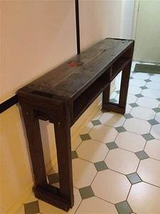 Rustic Pallet Hallway Table  Side Table