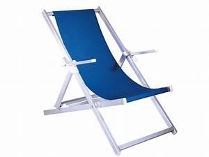 Chaise Longue Aluminium : relax chaise longue de plage en aluminium ~ Teatrodelosmanantiales.com Idées de Décoration