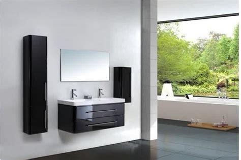 meuble haut salle de bain noir laqu 233 salle de bain id 233 es de d 233 coration de maison m1plxp1lwm