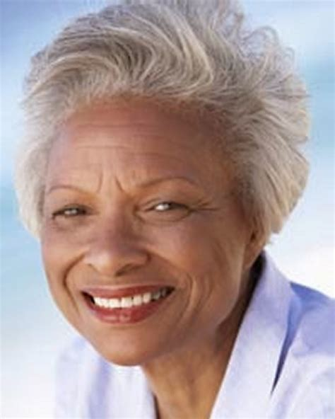 Hairstyles For Older Black Women  Hair Style And Color