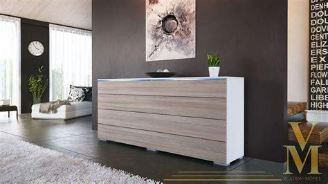Sideboard Kommode Tv Board Schrank Anrichte Plön Weiß