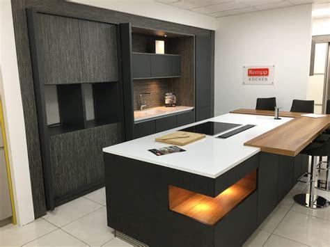 display rempp kitchen island  silestone worktops