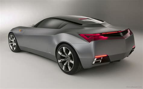 Sports Car Concept by Acura Advanced Sports Car Concept 3 Wallpaper Hd Car
