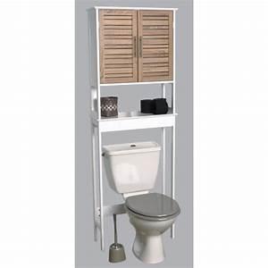 Ikea Meuble Toilette : etagere bois toilette ~ Teatrodelosmanantiales.com Idées de Décoration