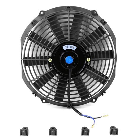 electric radiator fan kit 7 quot 16 quot high performance black electric radiator