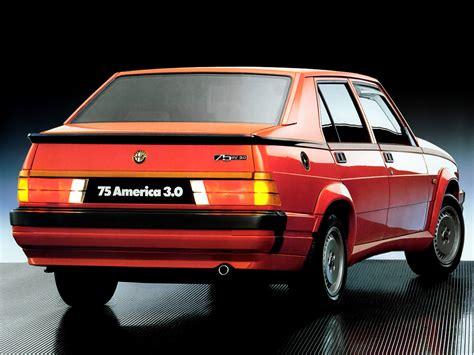 Alfa Romeo 75 6v 30 America Wallpapers  Cool Cars Wallpaper