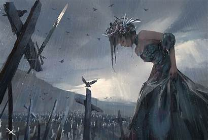 Wlop Wallpapers Fantasy Artist Digital Anime Background