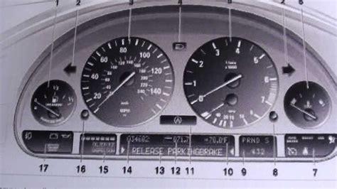bmw dashboard 2000 bmw 528i warning lights iron blog