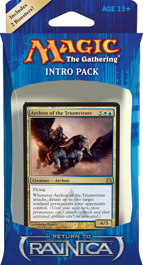 Azorius Deck Return To Ravnica by Return To Ravnica Intro Pack Decklists Magic The Gathering