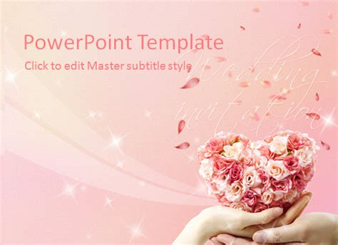 wedding powerpoint templates premium