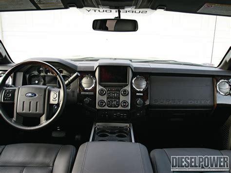 ford   platinum road test diesel power magazine