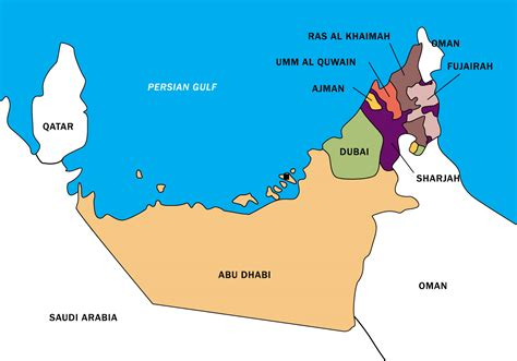 uae map vector boundary   vector art stock
