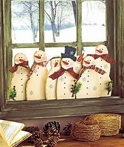 Fensterdeko Aus Holz : fensterdeko f r weihnachten wundersch ne dezente und tolle beispiele ~ Markanthonyermac.com Haus und Dekorationen
