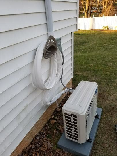 mrcool diy  btu  ton ductless mini split air
