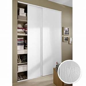 Porte Placard Coulissante Pas Cher : porte coulissante dressing castorama ~ Premium-room.com Idées de Décoration