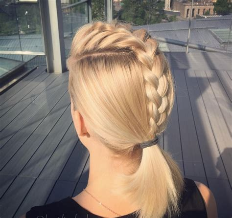 french braid ponytail haircut ideas designs