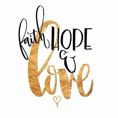 Calligraphy Quotes Faith Hope Words
