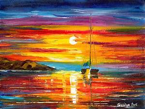 The gallery for --> Sunrise Oil Paintings