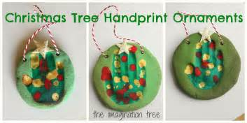 salt dough handprint tree ornaments the imagination tree