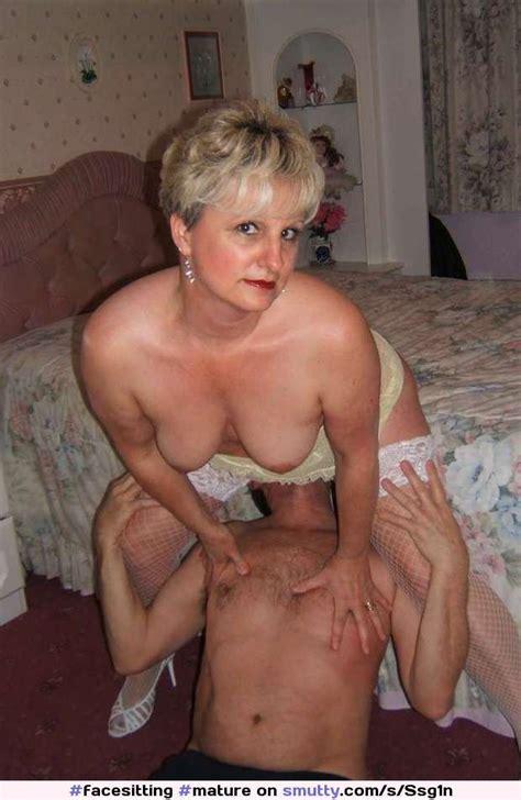mature granny femdom facesitting