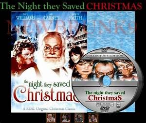 THE NIGHT THEY SAVED CHRISTMAS DVD 1984 ART CARNEY Movi ...