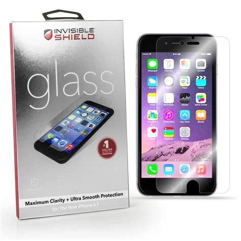 glass iphone screen protector genuine zagg invisible shield glass screen protector