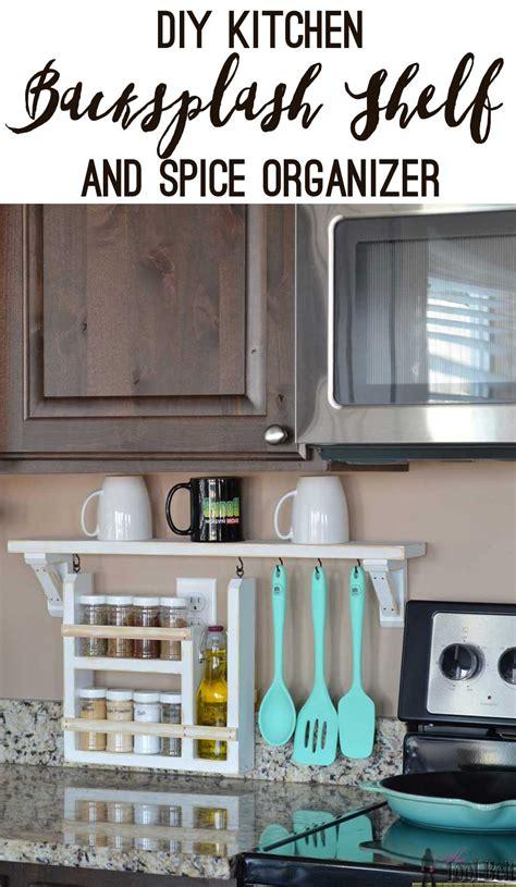 diy kitchen cabinet organizers kitchen backsplash shelf and organizer tool belt 6826