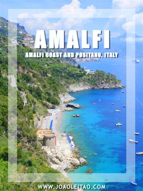 Idyllic Amalfi Coast In The Tyrrhenian Sea Italy