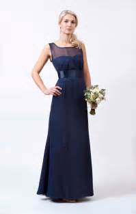 navy dresses for wedding navy wedding dress from to measure hitched co uk
