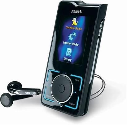 Sirius Stiletto Portable Radio Receiver Antenna Headphones