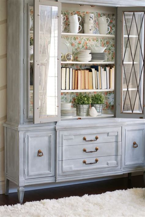 hutch means chalk paint powder hutch makeover