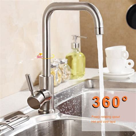 modern kitchen faucets stainless steel brushed nickel kitchen faucet modern kitchen mixer tap