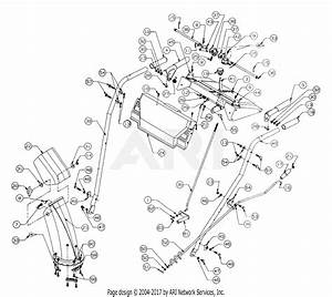 Mtd 317e760f118  1997  Parts Diagram For Handle Assembly