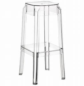 Tabouret De Bar Plastique : tabouret de bar leno transparent tabouret design ~ Teatrodelosmanantiales.com Idées de Décoration