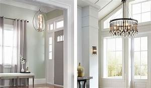 Foyer Lighting Ideas & Tips including pendant and sconces