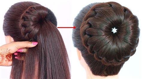 bun hairstyle  wedding  party trending