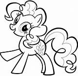 Pie Pinkie Coloring sketch template