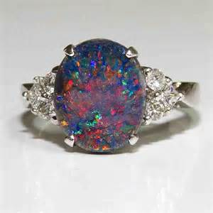 opal and engagement rings black opal engagement rings wedding and bridal inspiration