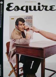 five minutes with martin edition magazine esquire magazine dean martin cover september 2008