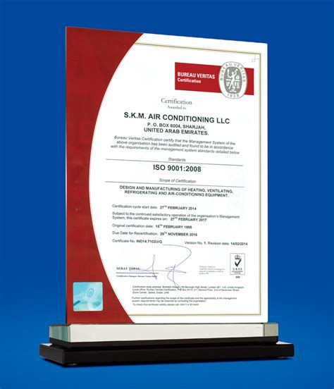 bureau veritas kuwait s k m air conditioning llc