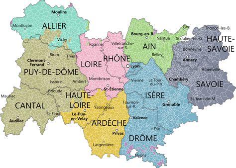 Carte Nouveau Monde 2017 Auvergne Rhone Alpes fichier auvergne rh 244 ne alpes et provinces svg wikip 233 dia
