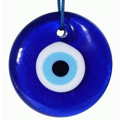 A nazar or evil eye stone (nazar boncuğu) is an amulet