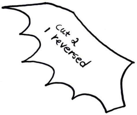 Bat Template Bat Wing Template