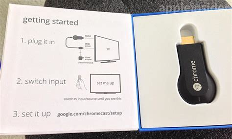 how to connect chromecast to phone review s 35 chromecast has promise but plenty of