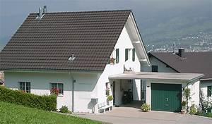 Garagenanbau Mit Terrasse : garage f r ihr neues haus bauen mit swisshaus ag ~ Lizthompson.info Haus und Dekorationen