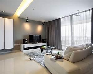 Rideau Moderne Salon : inspiration rideau salon deco maison moderne ~ Premium-room.com Idées de Décoration
