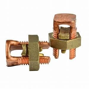 Gardner Bender 2 Awg Copper Split Bolt Connector  2