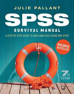 Ebook  Spss Survival Manual  A Step By Step Guide To Data