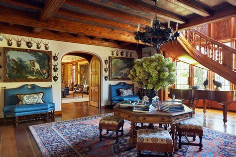 cool ceilings abound  tommy hilfigers lavish country